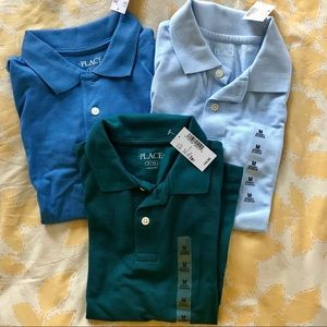 Lot of 3 Boys Polo Shirts